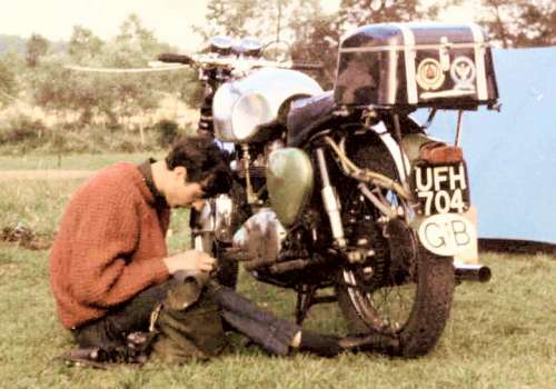 Ron and BSA